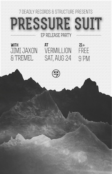 Jimi Jaxon - 7 Deadly Release Party Poster Small