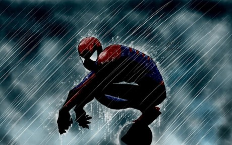 marvel_comics_spider_man_fan_art_rain_1280x800_89159